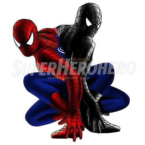 Designs Spiderman Iron on Transfers (Wall & Car Stickers) No.4610